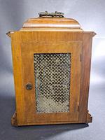19th Century Walnut Mantle Clock (5 of 6)