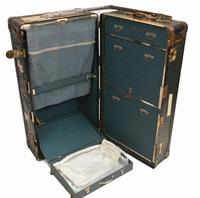 Vintage Steamer Trunk Luggage Case Harrison and  Co New York (17 of 28)