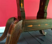 Exceptional Regency Period Rosewood Inlaid Fold-over Occasional Card Games Table (13 of 14)