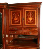 Marquetry Inlaid Wardrobe by Heal & Son (4 of 8)