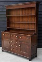 Beautiful 18th Century Georgian Oak Dresser/ Sideboard c.1770 (8 of 14)