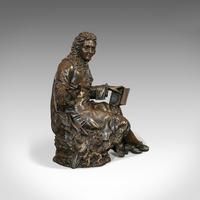 Antique Fontaine Figure, French, Bronze, Statue, after Ernest Rancoulet c.1920 (11 of 12)