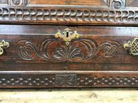 18th Century Carved Oak Mule Chest (10 of 13)