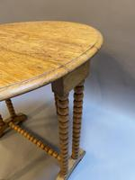 Victorian Oak Sutherland Table (9 of 10)