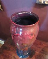 Rare Moorcroft Flambe Glazed Fishes Vase (7 of 9)