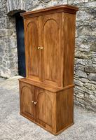Antique Victorian Pine Shelved Larder Cupboard (3 of 19)