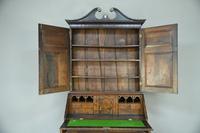 Antique Oak Bureau Bookcase (7 of 9)