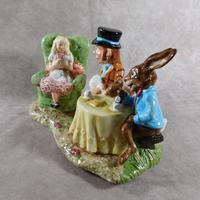 Royal Doulton, Beswick  Ware, Limited Edition, The Mad Hatter's Tea Party Tableau (2 of 12)