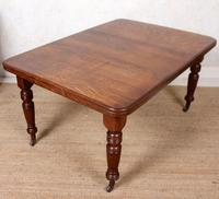 Oak Dining Table 6 Seater Victorian Wild Golden Oak 19th Century Solid (10 of 16)