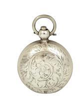 Antique Edwardian Sterling  Silver Sovereign Case 1907 (6 of 10)