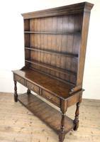 Antique Oak Pot Board Dresser (8 of 9)