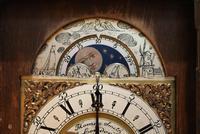 Small Burr Maple Bracket Clock (9 of 9)