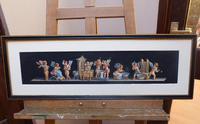 Watercolour Mischievous Putti Listed Artist E P Fenderico (14 of 14)