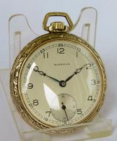 1940s Art Deco Superva  Pocket Watch (2 of 4)