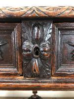 Antique Carved Oak Table (4 of 10)