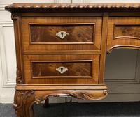Fine Quality Burr Walnut Desk (14 of 25)