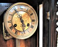 Spring Driven German Striking Vienna Wall Clock by Friedrich Mauthe. (6 of 7)