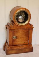 Mid Victorian Drumhead Visible Escapement Mantel Clock (9 of 11)