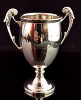 Vintage Sterling Silver Trophy Cup, Art Deco (6 of 9)