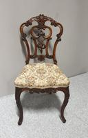 Set of  Victorian Walnut Dining Chairs (5 of 8)