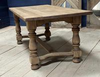 Deep Bleached Oak French Farmhouse Dining Table (14 of 20)