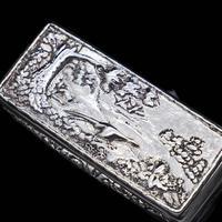 Georgian Solid Silver Snuff Box with Pheasant Scene - Thomas Shaw 1834 (9 of 28)