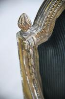 Giltwood & Gesso Fauteuil in Louis XVI Style (6 of 12)