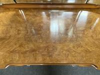 Antique Queen Anne Burr Walnut Dressing Table (15 of 16)
