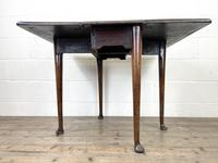 Antique 18th Century Walnut Drop-leaf Table (10 of 10)