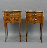 Fine Pair of Ormolu & Parquetry Side Tables (3 of 6)