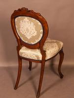 Fantastic Set of 6 Victorian Walnut Dining Chairs (3 of 14)