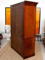 Wardrobe Compactum Linen Press Flame Mahogany (13 of 13)