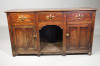 Late 19th Century Oak Kennel Dresser of Small Proportions (5 of 5)