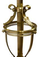 Edwardian Cast Brass Standard Lamp (3 of 3)