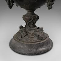 Antique Serving Cup, Continental, Bronze, Goblet, 18th Century, Georgian c.1800 (9 of 12)