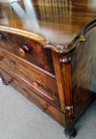 Burr Walnut Chest of Drawers (5 of 6)