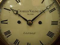 George IV Mantel Clock by Charles Valogne, London (7 of 10)