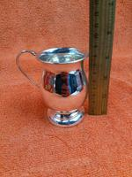 Vintage Sterling Silver Hallmarked Cup Mug 1966 (4 of 8)