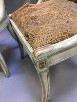 Pair of Empire French Painted Chairs (8 of 10)