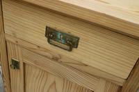 Fantastic & Large Pair of Old Stripped Pine Bedside Cabinets - We Deliver! (4 of 9)