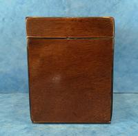 18th Century Harewood Inlaid Single Mahogany Tea Caddy (11 of 18)