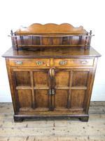 Antique Arts & Crafts Oak Sideboard Cupboard (2 of 11)