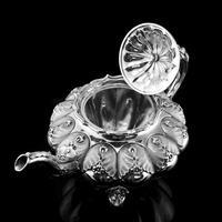 Magnificent Georgian Solid Silver Tea Set / Service 3 Piece Set - Barnard 1835 (7 of 29)
