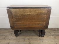 Early 20th Century Antique Oak Gateleg Table (4 of 9)