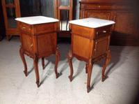 Pair of French Mahogany Bedside Cabinets (8 of 8)