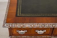 Superb Victorian Walnut 2 Pedestal Desk (3 of 10)
