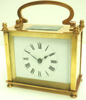 Fine Antique French 8-day Rectangle Carriage Clock Mantel Timepiece c.1890 (2 of 10)