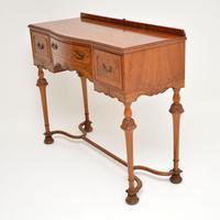 Antique Burr Walnut  Server / Side Table (4 of 11)