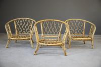 Single Bamboo Cane Tub Chair. (4 of 12)