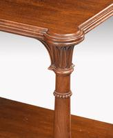 Late 19th Century Mahogany Night Stand or Lamp Table (3 of 5)
